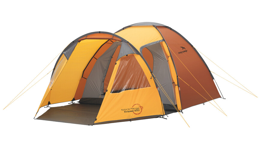 Easy Camp Eclipse 500 tent oranje